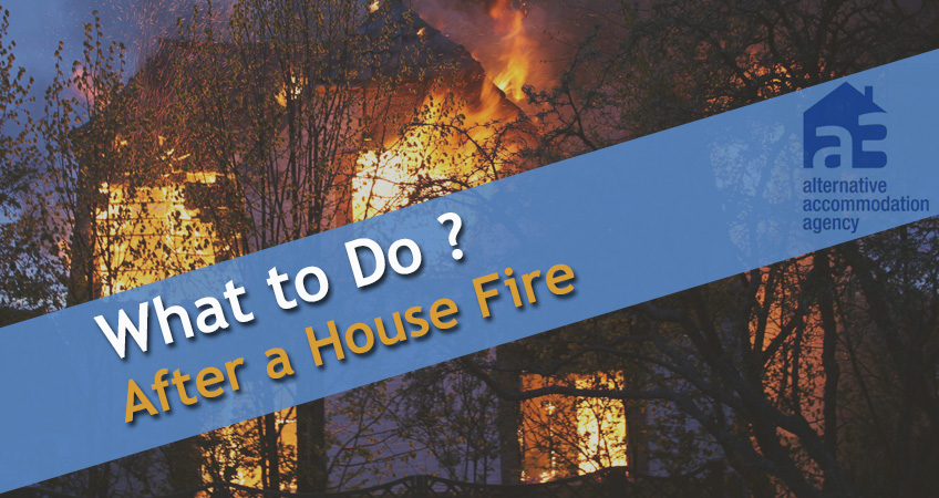 What to Do After a House Fire